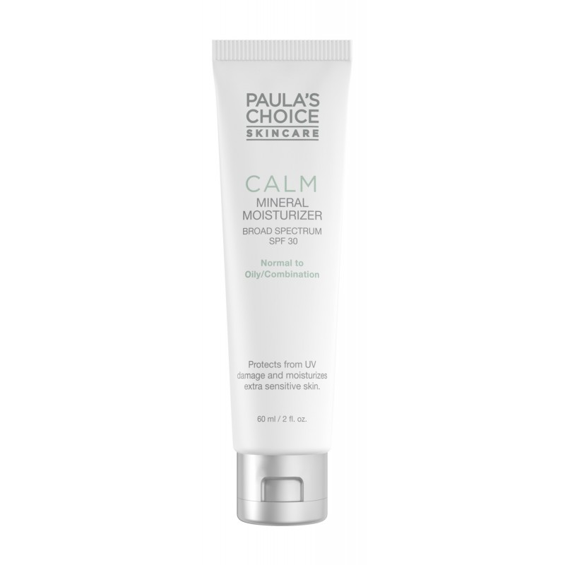 Calm Redness Relief Mineral Moisturizer SPF30 - for normal to oily skin