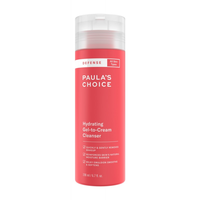 Defense Hydrating Gel-to-Cream Cleanser