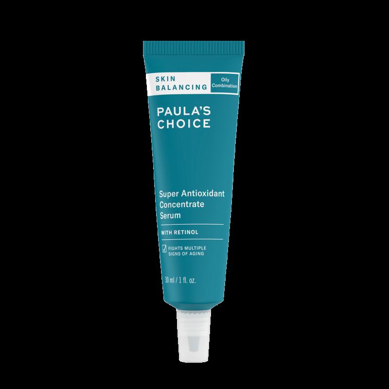 Skin Balancing Super Antioxidant Concentrate Serum with retinol