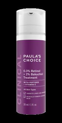 CLINICAL 0,3% Retinol + 2% Bakuchiol Treatment