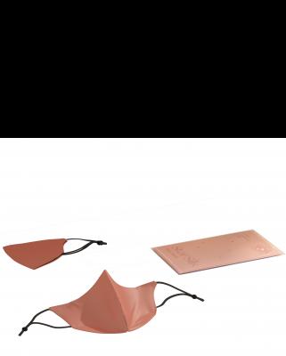 Svilena maska za obraz Daydream Pink