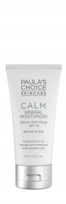 Calm Redness Relief Mineral Moisturizer SPF 30 Travel Size - for normal to dry skin