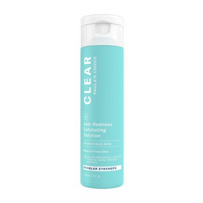 Clear Regular Strength Anti-Redness Exfoliating Solution With 2% Salicylic Acid